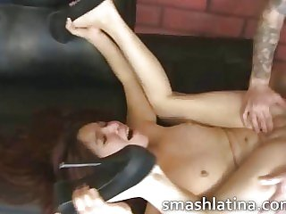 Latina slut on..