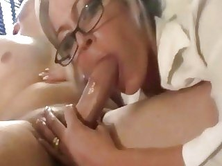 Mummy Blowjob..